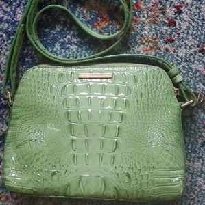Brahmin Green Mini Duxbury